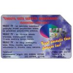 The Phonecard Shop: Lithuania, Vilsat Cable TV, 25 units