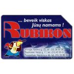 The Phonecard Shop: Lithuania, Rubikon, 50 units
