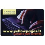 The Phonecard Shop: Lithuania, Yellow Pages, 200 units