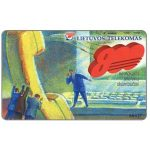 The Phonecard Shop: Lithuania, Green Number 800, 50 units