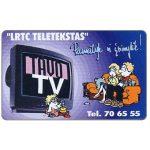 The Phonecard Shop: Lithuania, Tavo TV, 50 units