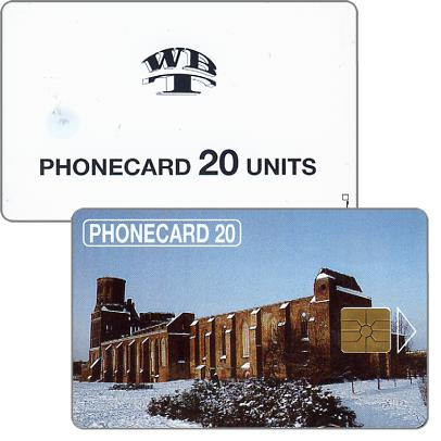 Phonecard for sale: Kaliningrad, Elektrosviaz - Ruins of the Cathedral, 20 units
