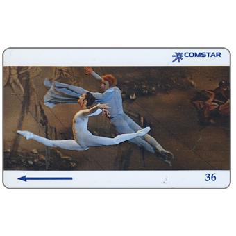 Phonecard for sale: Moscow, Comstar - The Bolshoi Ballet, The Poem, 8SSRI, $36