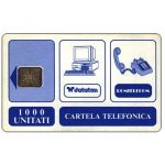 The Phonecard Shop: Romania, First issue, trial card, 1000 units