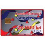 The Phonecard Shop: Romania, Definitive, 20000 lei