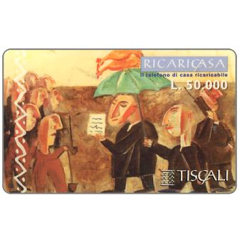 Phonecard for sale: Ricaricasa, Funerale, L.50000