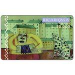 The Phonecard Shop: Italy, Tiscali, Ricaricasa, Organino blu, L.50000