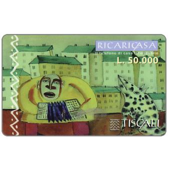 Phonecard for sale: Ricaricasa, Organino blu, L.50000