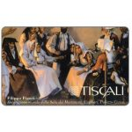 Phonecard for sale: Tiscali, F.Figari - Decoraz. Murale Sala Matrimoni, L.20000