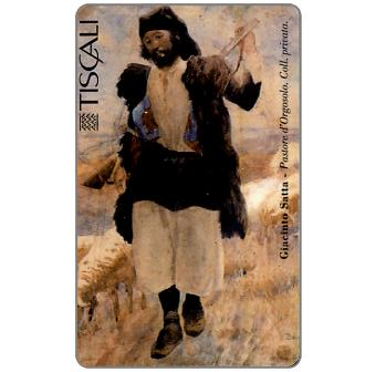 Phonecard for sale: G. Satta - Pastore d'Orgosolo, L.20000