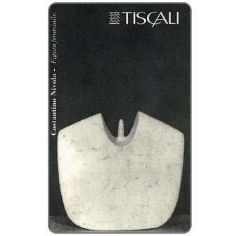 Phonecard for sale: C. Nivola - Figura femminile, L.20000