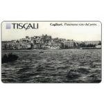 The Phonecard Shop: Tiscali, Cagliari - Panorama dal porto, L.20000