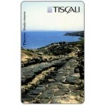 The Phonecard Shop: Tiscali, Tharros - Strada romana, L.20000