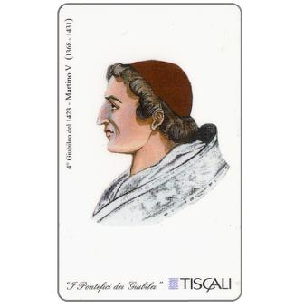 Phonecard for sale: 4° Giubileo 1423 - Martino V, L.10000