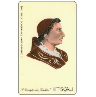 Phonecard for sale: 7° Giubileo 1500 - Alessandro VI, L.10000