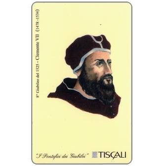 Phonecard for sale: 8° Giubileo 1525 - Clemente VII, L.10000