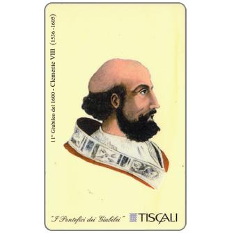 Phonecard for sale: 11° Giubileo 1600 - Clemente VIII, L.10000
