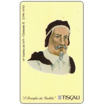 Phonecard for sale: 14° Giubileo 1675 - Clemente X, L.10000