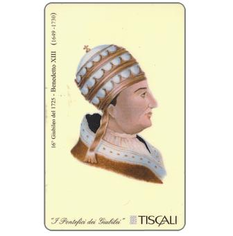 Phonecard for sale: 16° Giubileo 1725 - Benedetto XIII, L.10000