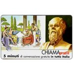 The Phonecard Shop: Italy, Personaggi n. 19 – Socrate, 5 min.