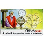 The Phonecard Shop: Italy, Personaggi n. 25 – Ipparco di Nicea, 5 min.