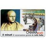 The Phonecard Shop: Italy, Personaggi n. 27 – Cicerone Marco Tullio, 5 min.