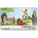 The Phonecard Shop: Italy, Personaggi n. 30 – Gesù, 5 min.