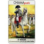 Phonecard for sale: Personaggi n. 82 – Napoleone Bonaparte, 5 min.