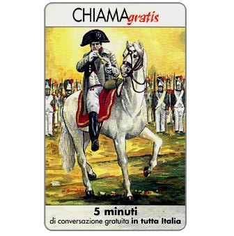 The Phonecard Shop: Italy, Personaggi n. 82 – Napoleone Bonaparte, 5 min.