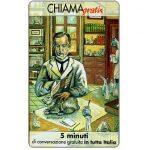 The Phonecard Shop: Italy, Personaggi n. 95 – Louis Pasteur, 5 min.
