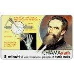 The Phonecard Shop: Italy, Personaggi n. 98 – Wilhelm Konrad Roentgen, 5 min.