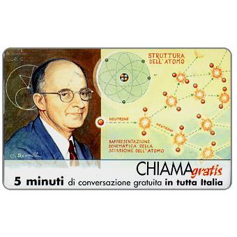 The Phonecard Shop: Italy, Personaggi n. 113 – Enrico Fermi, 5 min.