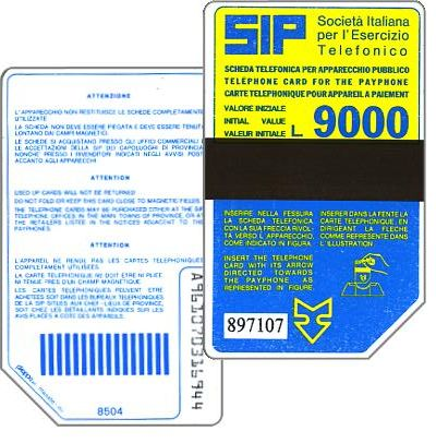 The Phonecard Shop: Sip, Sida 2, second group, 8504, L.9000