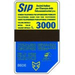 The Phonecard Shop: Sip, Sida 3, third group, 8606, L.3000