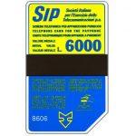 The Phonecard Shop: Italy, Sip, Sida 3, third group, 8606, L.6000