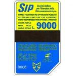 The Phonecard Shop: Italy, Sip, Sida 3, third group, 8606, L.9000