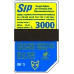 The Phonecard Shop: Italy, Sip, Sida 3, third group, 8610, L.3000