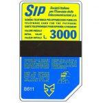The Phonecard Shop: Italy, Sip, Sida 3, third group, 8611, L.3000