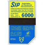 The Phonecard Shop: Italy, Sip, Sida 3, third group, 8704, L.6000
