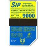 The Phonecard Shop: Italy, Sip, Sida 3, third group, 8704, L.9000