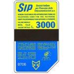 The Phonecard Shop: Italy, Sip, Sida 3, third group, 8706, L.3000