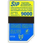 The Phonecard Shop: Italy, Sip, Sida 3, third group, 8706, L.9000
