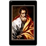 Phonecard for sale: St.Peter, painting by El Greco, 100 units