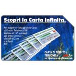 The Phonecard Shop: Italy, Scopri la Carta Infinita, no printer logo, 31.12.92, L.10000