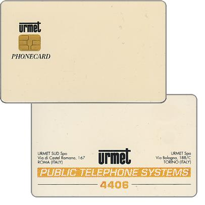 Urmet test card, Public Telephone Systems 4406