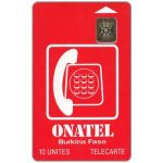 The Phonecard Shop: Onatel Logo, chip SC-5 SB Afnor, 10 units
