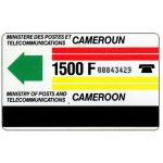 "The Phonecard Shop: Cameroon, First issue, no ""Guardian Lewes"" on reverse, 1500F"