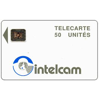 Intelcam logo, large arrow, chip SC-4 SB Afnor Ø6 without frame, 50 units