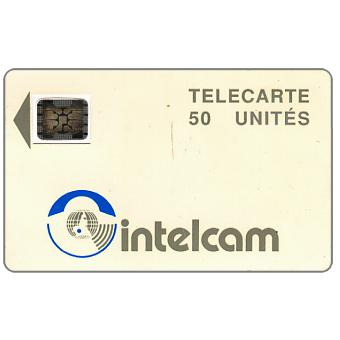 Intelcam logo, large arrow, chip SC-5 SB Afnor Ø7 with frame, 50 units