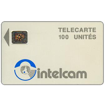 Intelcam logo, large arrow, chip SC-4 SB Afnor Ø6 without frame, 100 units